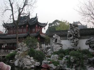 historical center in Shanghai