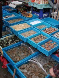 Fisch market in Shanghai