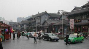 Qintai Lu in Chengdu
