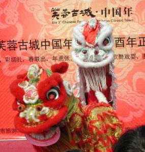 Lion Dance in Hibiscus town