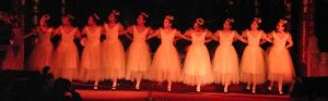 Ballett in Daci temple