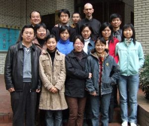 Master students of the Biomaterials department